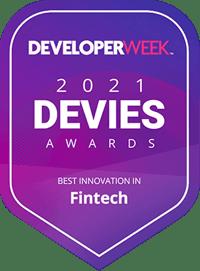 Incognia Best fintech innovation by Developer Week
