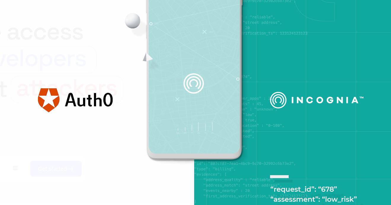 Incognia Announces Auth0 Integrations Cover