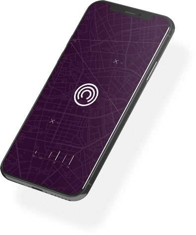 Phone with Incognia's Logo